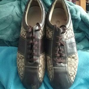 Coach Meyer Sneakers Size 10.5 brown